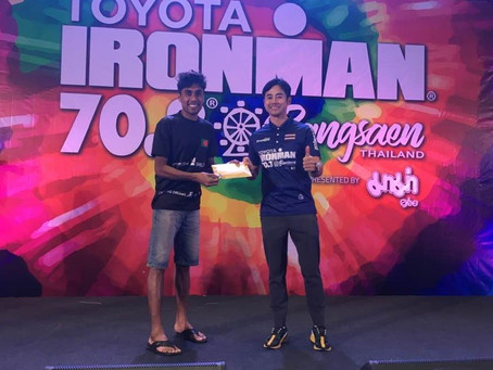 Mahbubur secures IM 70.3 World Champs place