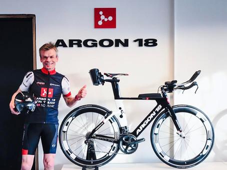 Aerobic Are signs Argon 18 Tri Team deal
