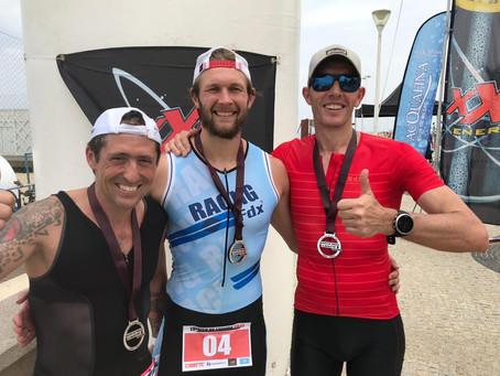 Aerobic Ray grabs first Triathlon Win!