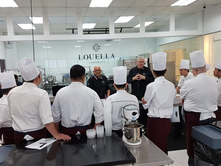 Pâtissier Exclusive Masterclass with Shangri-La Hotels and Resorts Group in Singapore