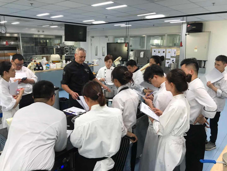 Pâtissier Exclusive May Masterclass with Shangri-La Hotels and Resorts Group in Shanghai, China