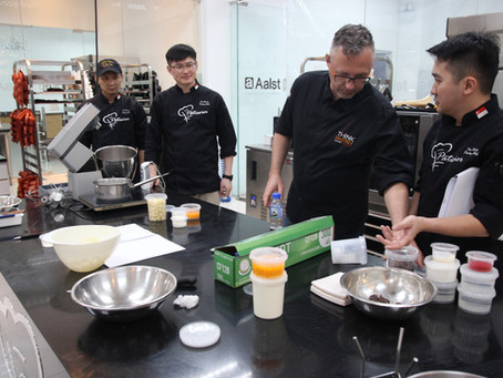 Pâtissier Chocolate Workshop For La Creation (Taiwan)