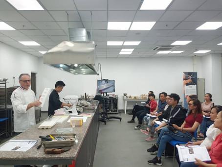 Pâtissier Chocolate Demonstration in Vietnam