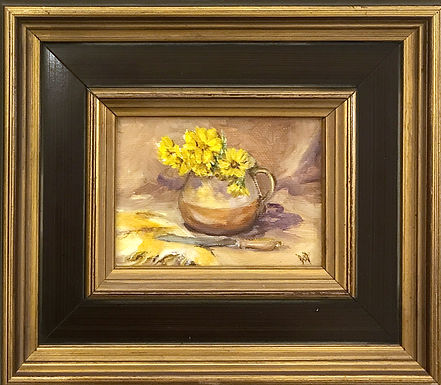 Pitcher of Flowers by Beverly Rinck