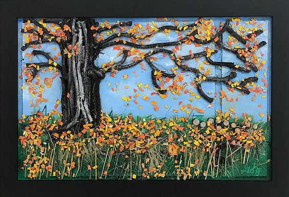 Autumn Leaves by Donald Gotz