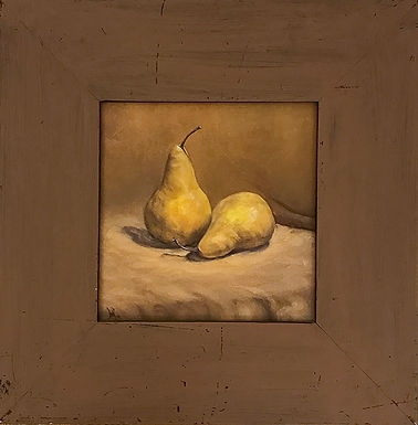 Paired Pears by Beverly Rinck