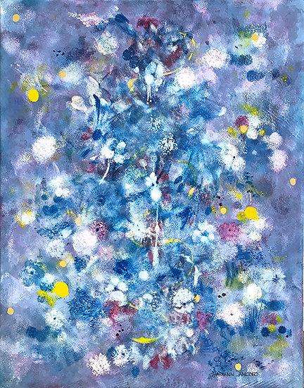 Go Softly Blue by Maryann Amodeo