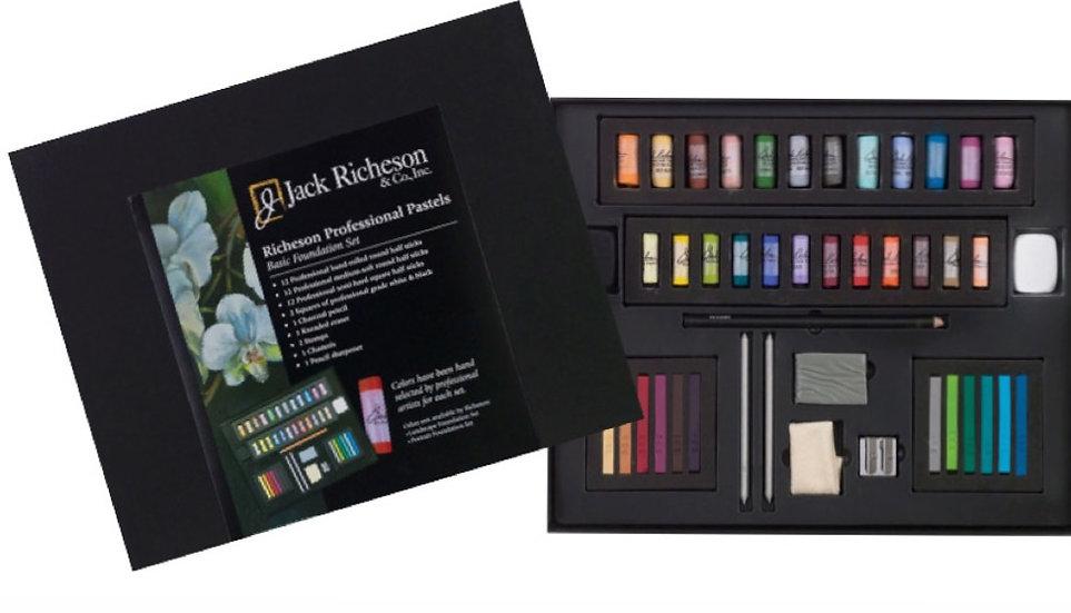 Jack Richeson Professional Pastels: Basic Foundation Set