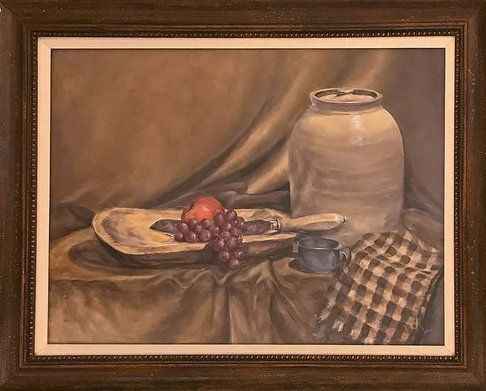 Apples and Grapes by Beverly Rinck