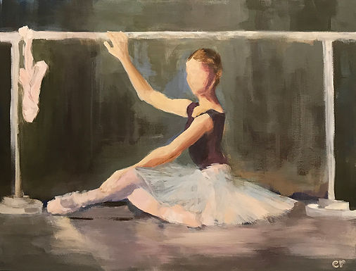 Dancer at the Barre by Elizabeth Ricketson