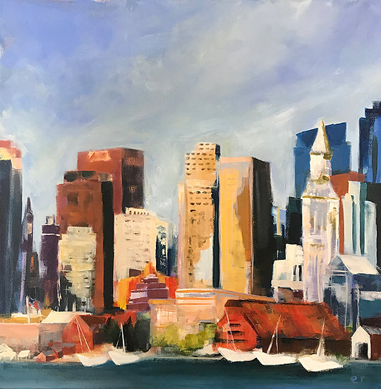 Boston Seaport by Elizabeth Ricketson