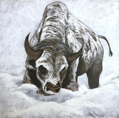White Buffalo by Lynda King