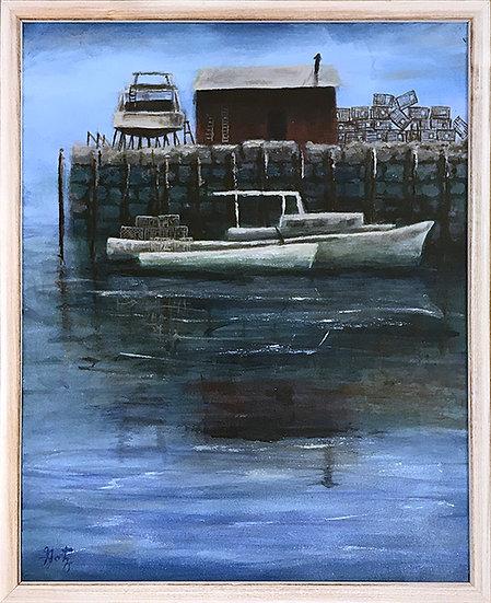 Lobster Boat Boston by Donald Gotz