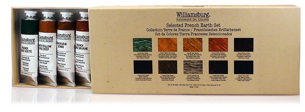 Williamsburg French Earth Set: Oil Paints
