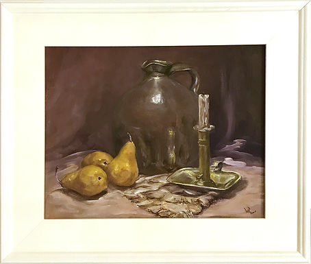 The Brass Candlestick by Beverly Rinck