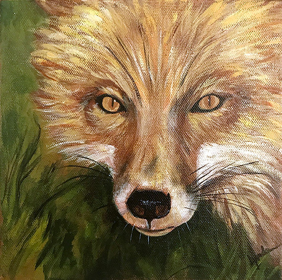 Fox, the Sage by Lynda King