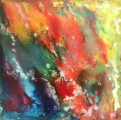My Favorite Color by Virginia Cook 2nd Place