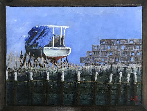 E Street Drydock by Donald Gotz
