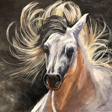 Flying Horse by Lynda King
