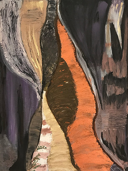Sandstone Cliffs by Adene Godman