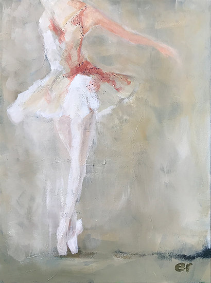White Tutu by Elizabeth Ricketson