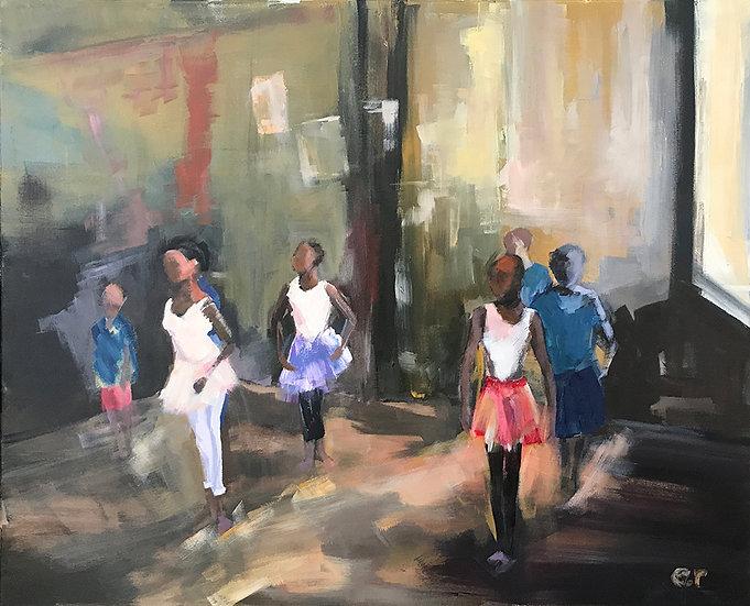 Kenyan Dance by Elizabeth Ricketson