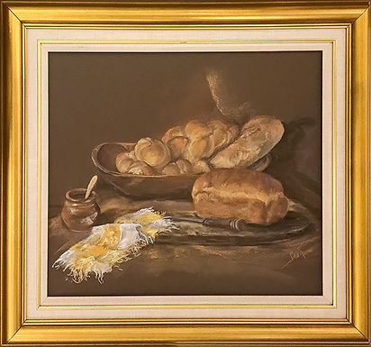 Warm Bread by Beverly Rinck