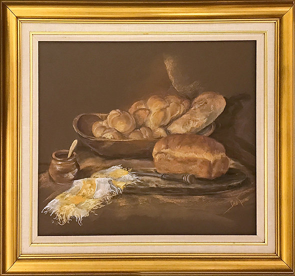 Warm Bread by Beverly Rinck