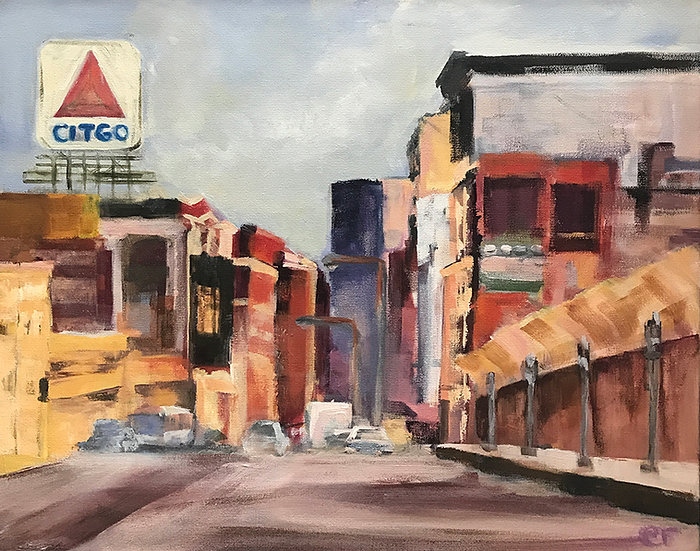 Kenmore Square by Elizabeth Ricketson
