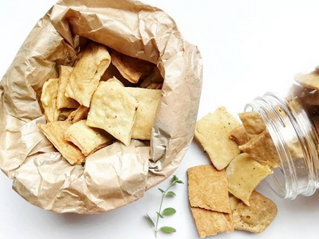 Crackers aux herbes