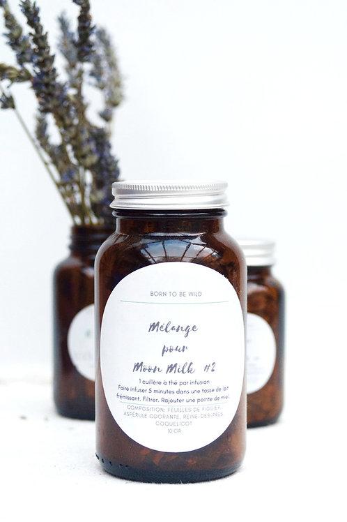 Moonmilk | Mélange végétal #2