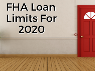 FHA Loan Limits to Rise again in 2020