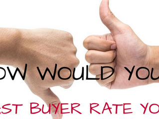 How Would Your Last First-Time Home Buyer Rate You?