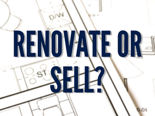 Do You Renovate or Sell?