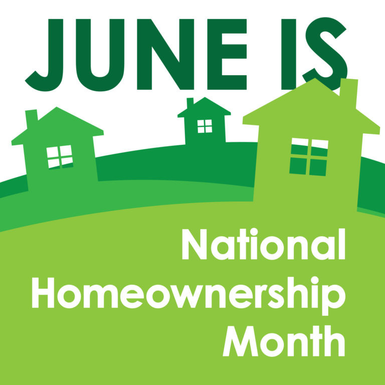 June National Homeownership Month 2018