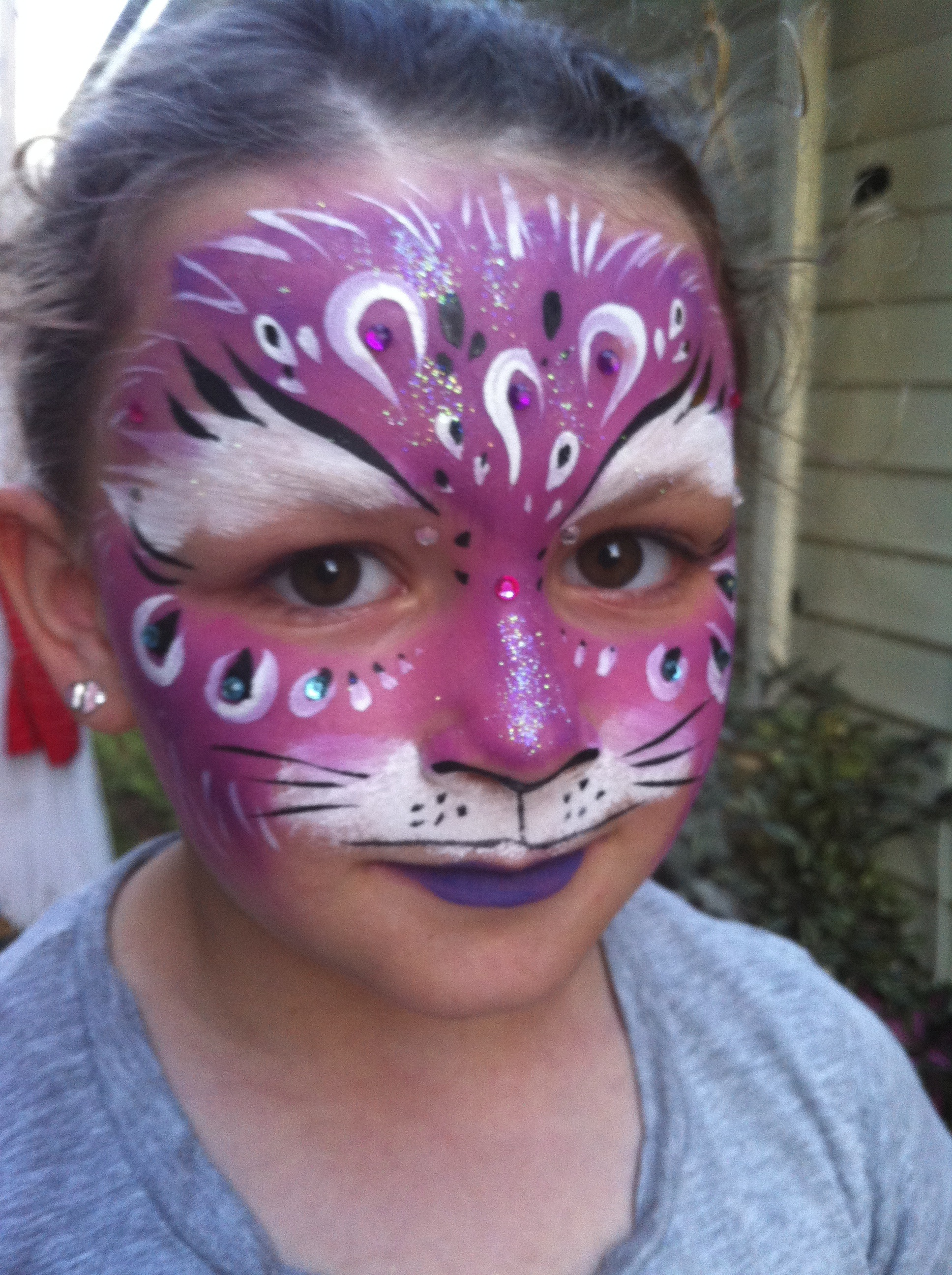 Pink and purple Kitty