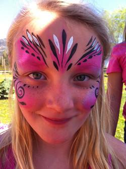 Kiki the Eco Elf Face Paint