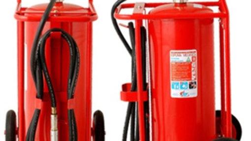 Carro Extintor PQS 50 kg . Certificado. ABC.