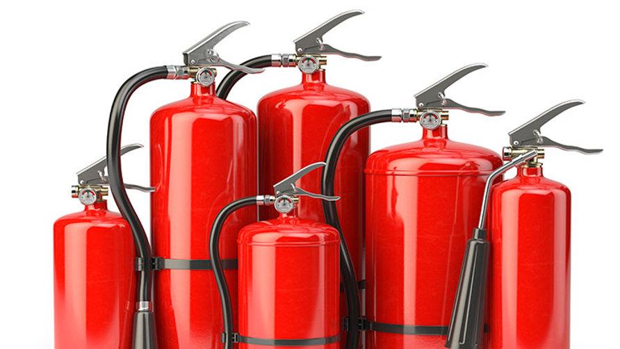 Extintor PQS 6 kg . Certificado. ABC.