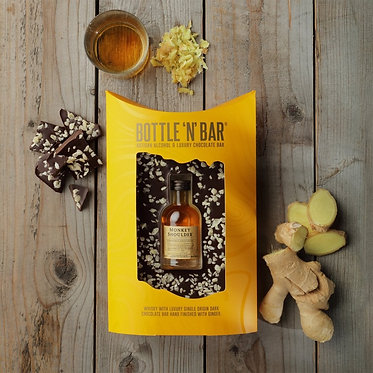 scotch malt whisky and chocolate gift box