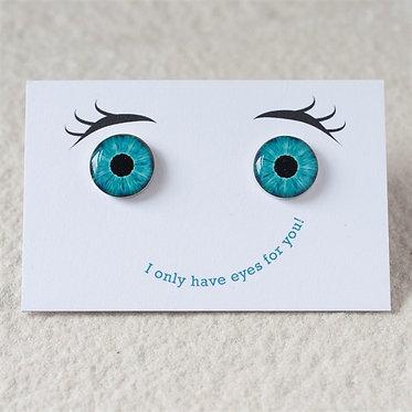 funny eyes cufflinks