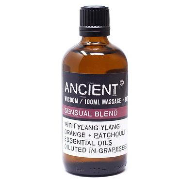ylang ylang orange patchouli massage oil