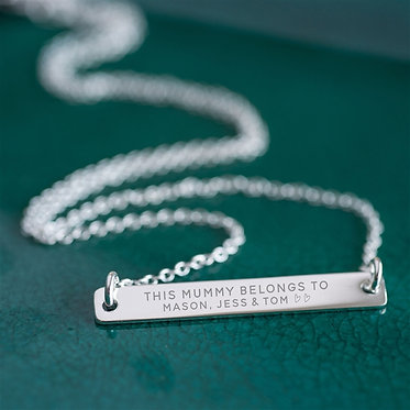 Mummy necklace gift