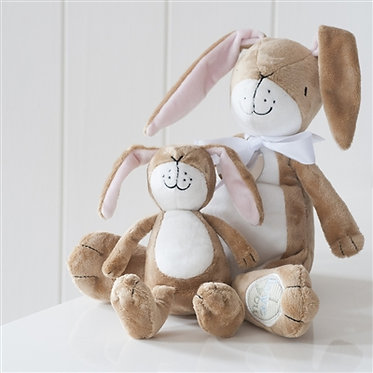 small nut brown hare soft toy