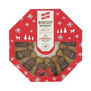 xmas luxury dog biscuits