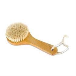 wooden body scrub brush