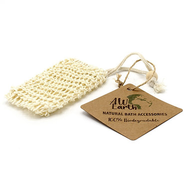sisal soap bag scrub