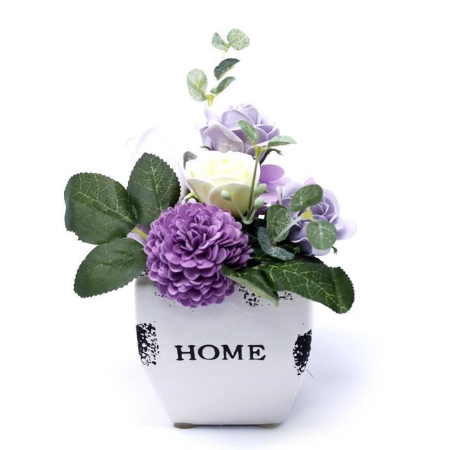 Soft Lavender - petite flower pot 1