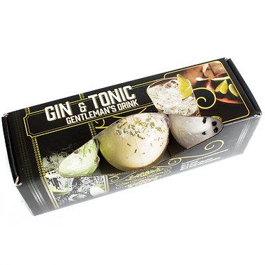 G & T bath bomb