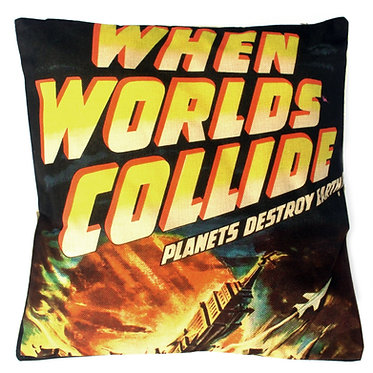 when worlds collide movie cushion